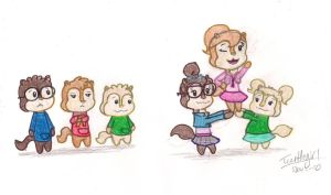 Go Chipettes by Turtlegirl5
