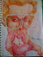 Napoleon Dynamite by cartoonicature93