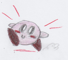 Kirby's here!!! by TheFlyingTacoz