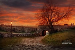 Kalemegdan sunset by Dzodan