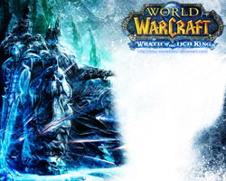 World of Warcraft:Wrath of the Lich King WALLPAPER by Silas-Tsunayoshi