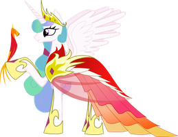 Princess Celestia Gala Dress by Senwyn1