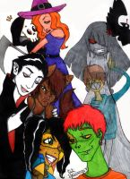 Halloween Gang... by LinaPrime