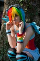Rainbow Dash by Ellyana-cosplay
