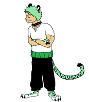Zoro the Tiger by XfangheartX