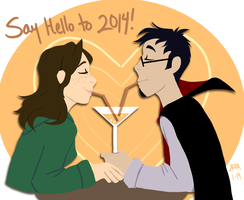 Say Hello to 2014 by Blairaptor