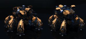 Annihilator battlemech #1 by Avitus12