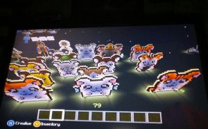 Hamtaro all charaters pixel art by Ah22783