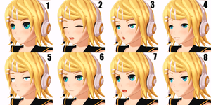 facial expressions by nerudrum