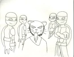 Tmnt story characters poster 2 by Draguto789