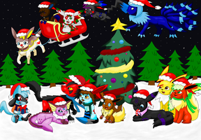 Merry Christmas 2010 by pokemonlover5673