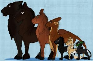 Line Up - Fawnlings by DodgerMD