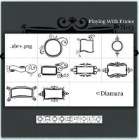 Playing With Frame No3 by Diamara