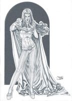 Emma Frost by StefanoLanza