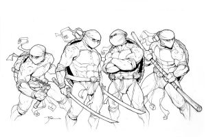 TMNT HiRez by johnnyrocwell