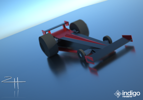 Sketchup Top Fuel/F1 Hybrid Low-Poly Model by NotActuallyBFG