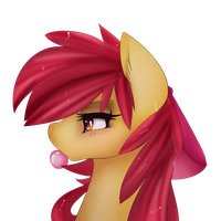 (older) Apple bloom by chocolateponi