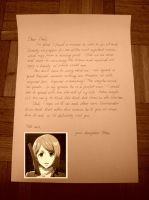 Petra's letter to her father by Teyami