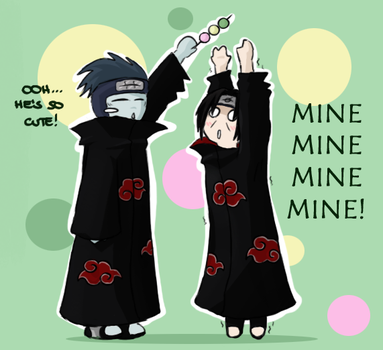 Itachi loves dango by jessicacicca