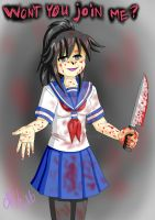 WON'T YOU JOIN ME? YANDERE VER by Cassyhattori63