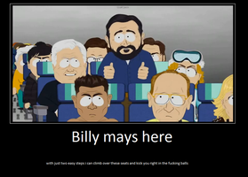 Motivational poster billy mays by MuffinNinjaFairy