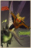 Danger Demon Splash Page by DBed