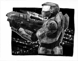 Not Master Chief by LukeDenby