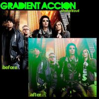 gradient accion by Shakeitout