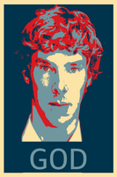 Benedict Cumberbatch Poster by A-M-Kelley