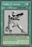 Phase II armor Yugioh card by Greenmonster251