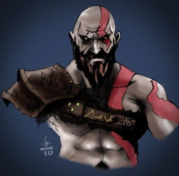 Kratos by andrieF87
