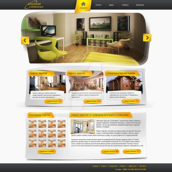 Remont site for krugozorstroy.ru by NI-Roller