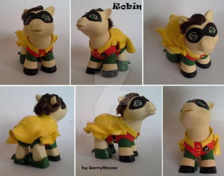 My little Pony Custom Robin by BerryMouse