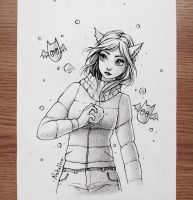 Snowballs (traditional) by natalico