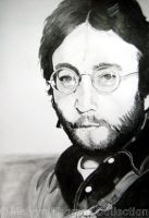 John Lennon Working Class Hero by MelT55