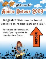 2009 Hotel Lobby Sign by octocentesquiderfish