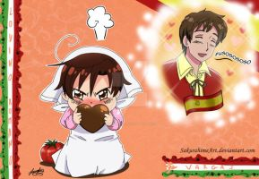 Spain and Romano by SakurahimeArt