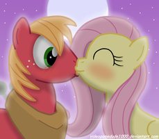 A Stolen Kiss by PajamaHam