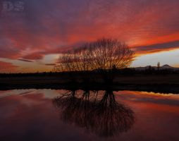 Sunset in Bend by slave-screams