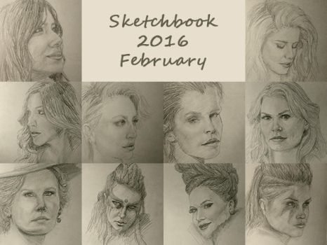 Sketchbook 2016 - February by Charmyto