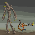Groot and Rocket by SmashRS