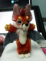 Needle felted Comet by Silverfox5213