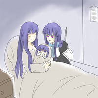 ERIKA GIVES BIRTH by Tofucakes