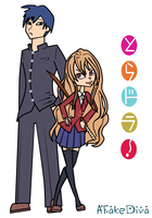 Toradora! - TD version by AFakeDiva
