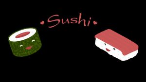 Sushi Widescreen by Fritters