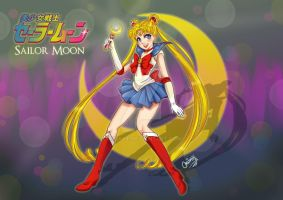 Bishoujo Senshi Sailor Moon by MiriArt