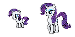 Rarity : Young and Present Sprite by Kevfin