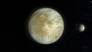 Europa and Jupiter by Topas2012