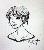 Quick Sketch: Rhea by Ornithogale