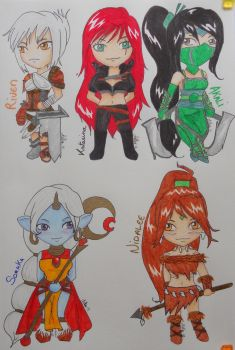 Chibi from LoL by Melly-melo